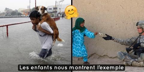 12 photos d'enfants qui redonnent confiance e...