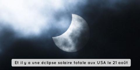 Ce lundi 7 aout vous pouvez voir une éclipse...