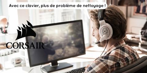 La marque Corsair sort un clavier pour ceux q...