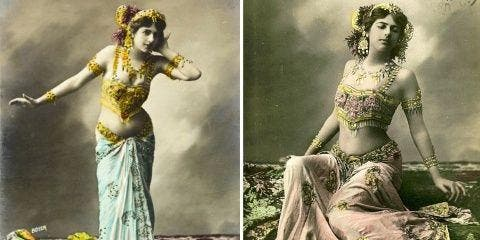 "Mata Hari, la ""femme fatale"" espionne en 8 ma..."