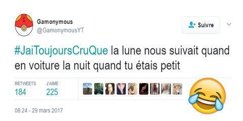 #JaiToujoursCruQue : Quand les twittos sont u...