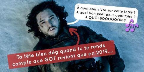 La saison 8 de Game Of Thrones n'arrivera pas...