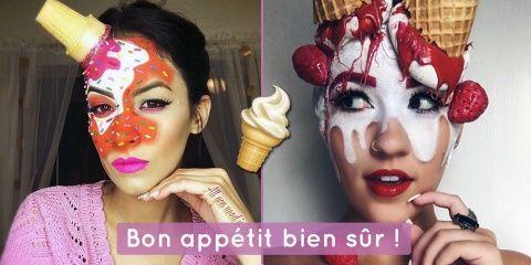 """Les """"Ice Cream Make Up"""", la nouvelle tendance..."""
