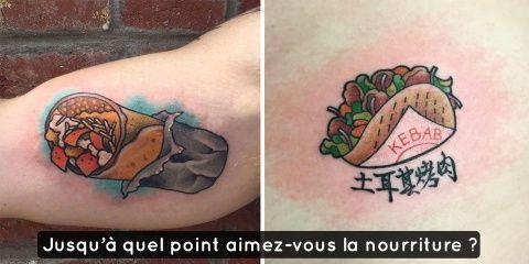 12 tatouages pour ceux qui aiment un peu trop...