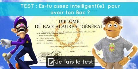 TEST : Es-tu assez intelligent(e) pour avoir...