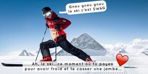 9 excellentes raisons de détester le ski, et...