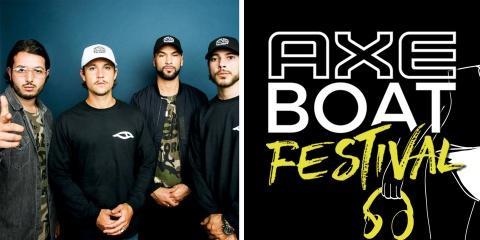 AXE Boat Festival : deux jours de concerts, d...