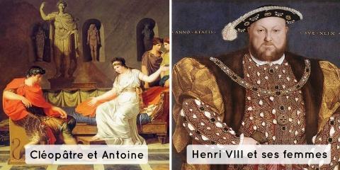 3 histoires d'amour historiques terribles, pa...
