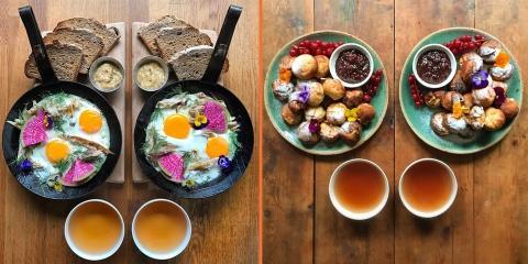 10 petits-déjeuners symétriques qui ravissent...