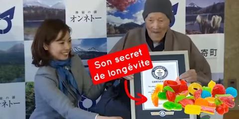 Masazo Nonaka, l'homme le plus vieux du monde...