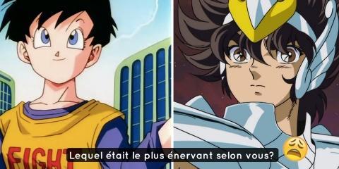 10 personnages d'anime que tu as forcément eu...