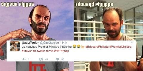 Les Twittos comparent le perso psychopathe de...