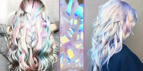 Les cheveux holographiques sont la nouvelle t...