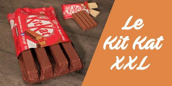 Vidéo - La recette pour réaliser un Kit Kat X...
