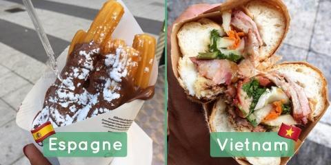 """Les 20 plats de """"street food"""" à travers le mo..."""