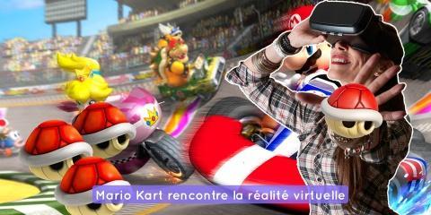 Mario Kart et la réalité virtuelle débarque d...