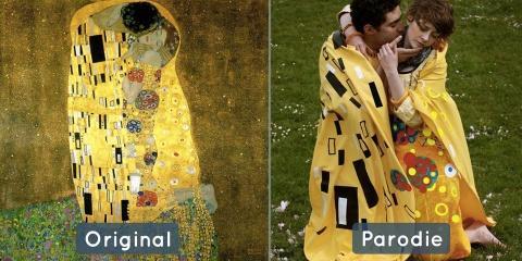 18 peintures célèbres revisitées de manière b...