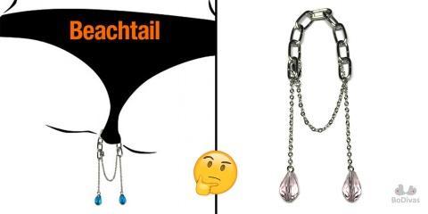 """Chelou : la """"beachtail"""" l'accessoire de plage..."""