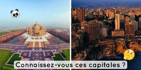 Quizz : trouvez la capitale de chacun de ces...
