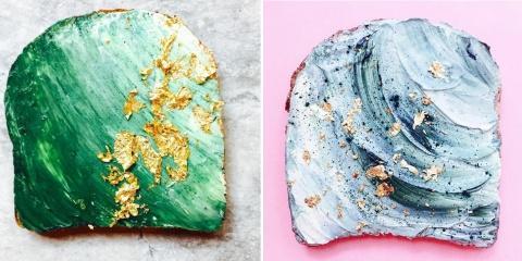 """Le """"Mermaid Toast"""" est la nouvelle tendance c..."""
