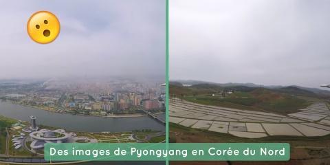 Ce photographe a pu filmer Pyongyang, la capi...