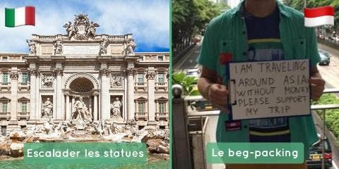 10 choses que font les touristes et qui exasp...