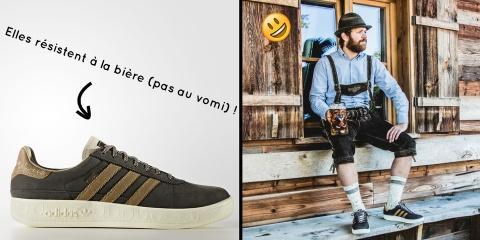 Adidas crée des chaussures résistantes à la b...