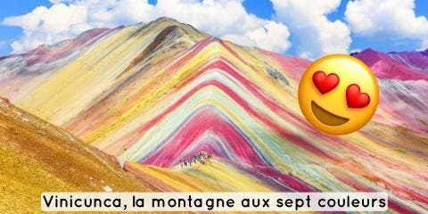 8 photos de l'incroyable montagne colorée Vin...