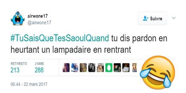 #TuSaisQueTesSaoulQuand : Aujourd'hui, les tw...