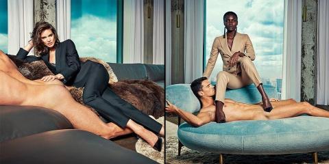Cette marque met les hommes à nus pour vendre...
