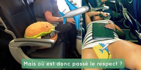 13 passagers d'avions qui ont mangé le respec...