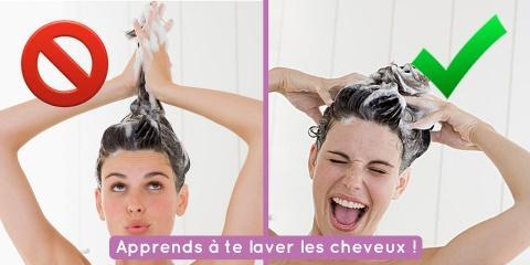 On se lave tous mal les cheveux, et cette vid...