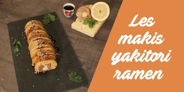 La recette pour faire des makis fourrés aux y...