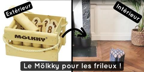 Une nouvelle version du Mölkky pour jouer à l...