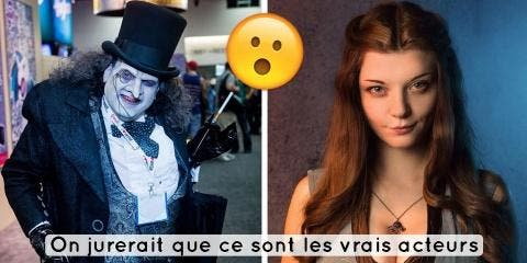 18 cosplay tellement bluffants qu'on ne sait...