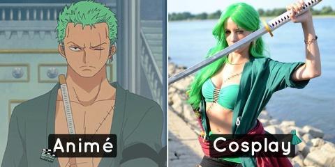 10 cosplays féminins inspirés par des mangas...