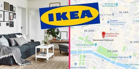 Ikea s'installe dans Paris intra-muros, et c'...