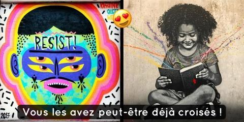 Street art : 5 artistes français à suivre abs...