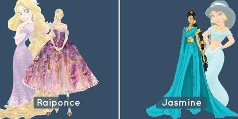 Cet artiste imagine les princesses Disney fou...