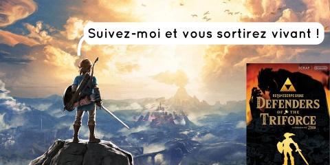 Un escape game sur le thème de Zelda bientôt...