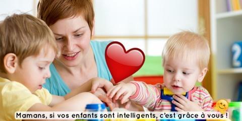 Grande nouvelle : l'intelligence est transmis...