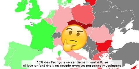4 cartes qui montrent le racisme en Europe