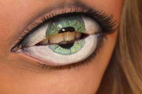 maquillage halloween qui fait pas peur