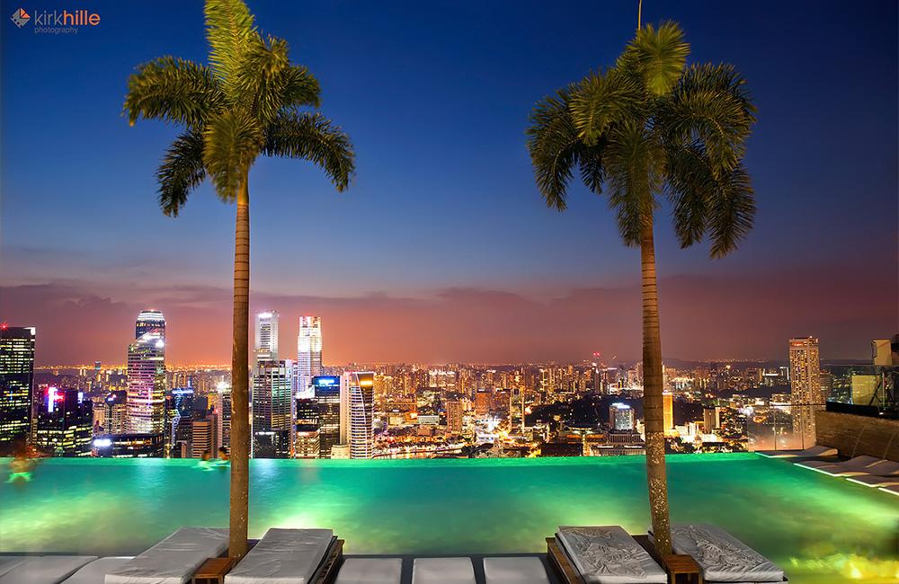 Ces 8 piscines en terrasse vont vous donner des envies de for Hotel singapour piscine