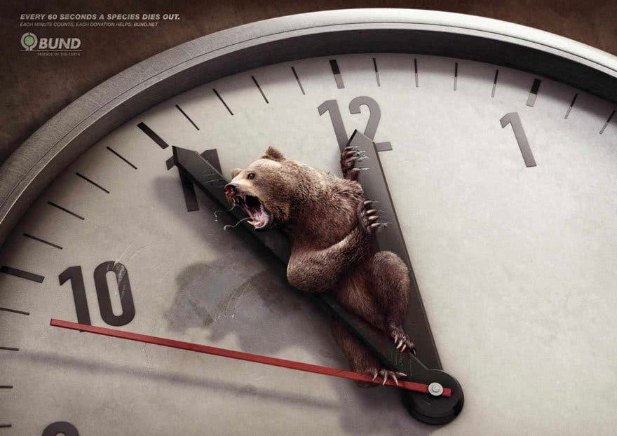 ours horloge