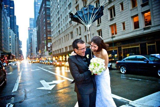 5 - Parapluie Mariage Pluvieux Mariage Heureux