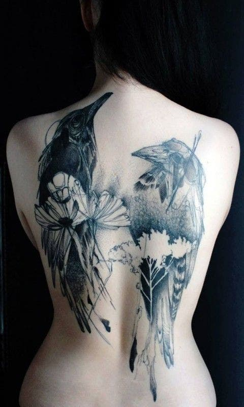 Tattoo féminin