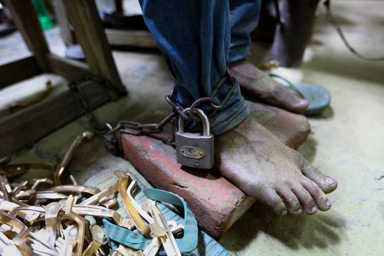 esclavages des enfants de nos jours