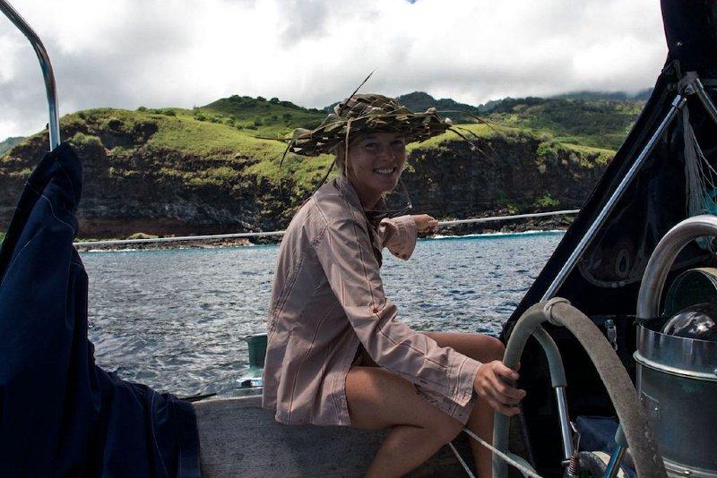 Capitaine Liz Clarke tour du monde