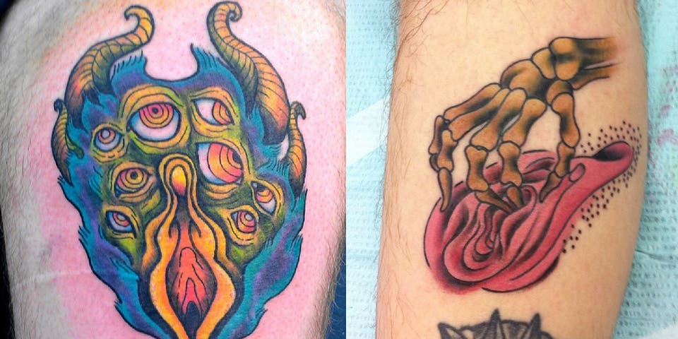 Découvrez 16 tatouages originaux qui ressemblent à des